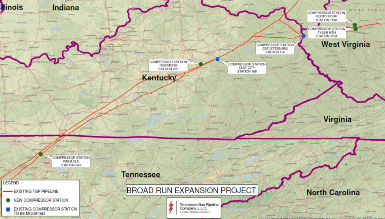 Court Rejects Challenge to Tennessee Gas Pipeline Project, Expresses